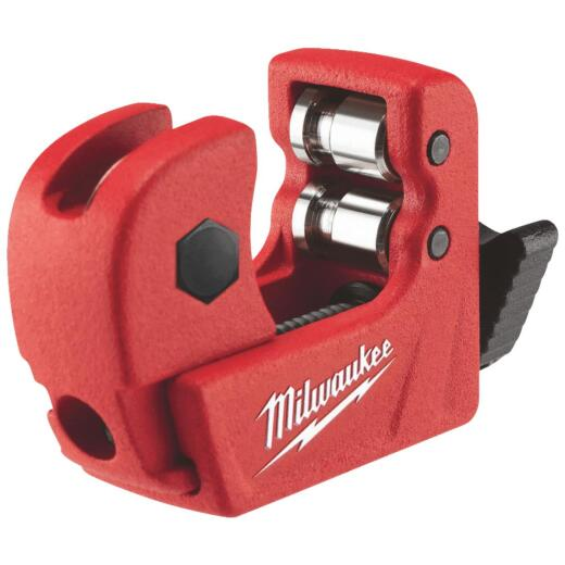 Milwaukee 1/2 in. Mini Tubing Cutter, 1/8 In. to 5/8 In. Pipe Capacity