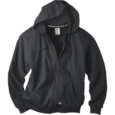 Dickies 2XL Black Fleece-80% Cotton, 20% Polyester Jacket