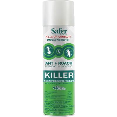 Safer 14 Oz. Aerosol Spray Ant & Roach Killer