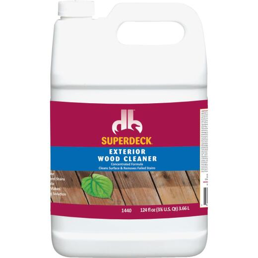 Duckback SUPERDECK 1 Gal. Exterior Wood Cleaner